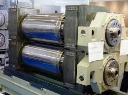 Roll coating machines